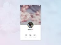 Daily Ui 006 Challenge - User Profile