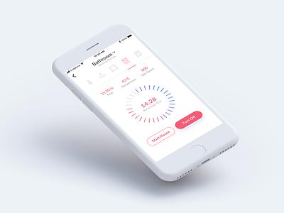 DailyUI 014 Challenge - Countdown Timer smarthome minimal countdown user experience design ui ux design dailyui