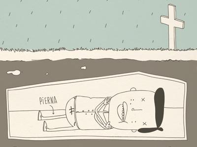 El funeralito comic spanish español funeral