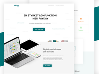 Payday 2016 - Landing page design