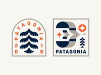 Patagonia Badges