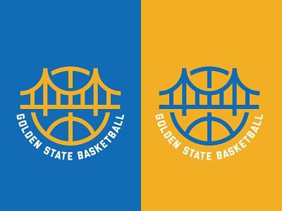 Golden State Basketball nba golden gate bridge golden state warriors logo basketball