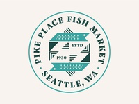 Pike Place Fish Market Badge