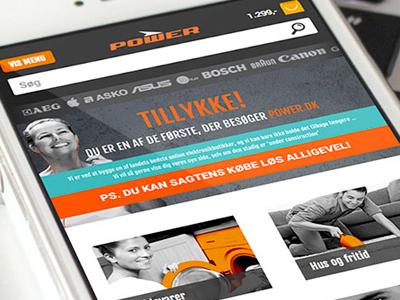 Power.dk mobile retail chain shop webshop power