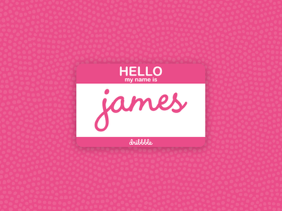 Hello my name is James firstshot