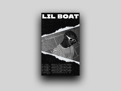 LIL YACHTY - POSTER illustration graphic design