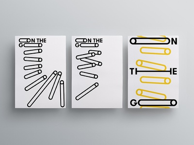 On The Go Visual Identity exhibition culture event branding keyvisual graphic design identity
