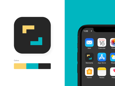 Moments Icon – Animated pixelperfect aftereffects animation dailyui icon app concept design ui