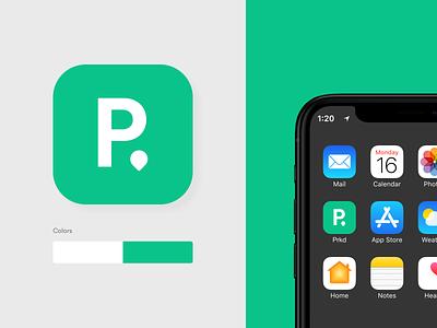 Prkd – Concept App wheresmycar parking icon app concept design ui
