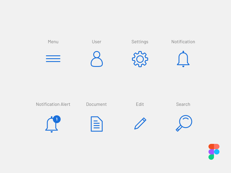 Figma Icon Pack ux ui app icons free to use icon iconpack figma