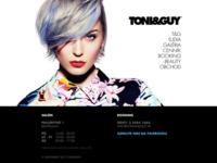 TONI&GUY website