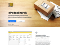 Moje Zasielky — Website