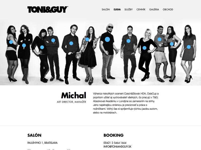 Toni guy team 2x