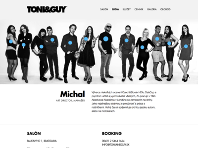 TONI&GUY Website