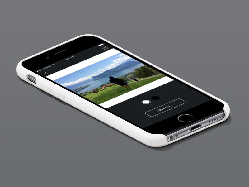 squaremate mockup app ios