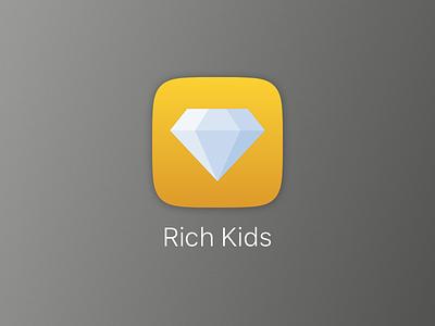 Rich Kids iOS Icon icon ios icon ios