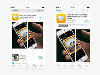 Rich Kids App Store Screenshots app store appstore