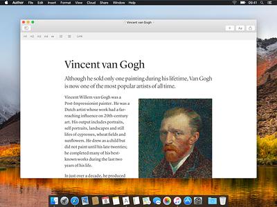 Author editor lyon native wysiwyg editor app macos