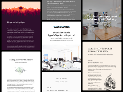 Examples of different styles in Author editor wysiwyg styles typography writing macos author
