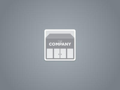 Placeholder icon for company