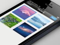 Select of image on dashboard