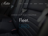 Matrix Chauffeured Website