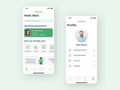 Medical App minimal ui mobile app mobile medicine app medical app