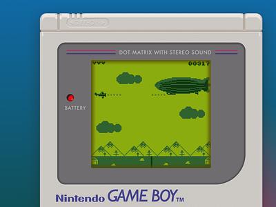 Bullet Reign - Gameboy Edition nintendo plane dogfight pixel gameboy sketch aseprite pixel art