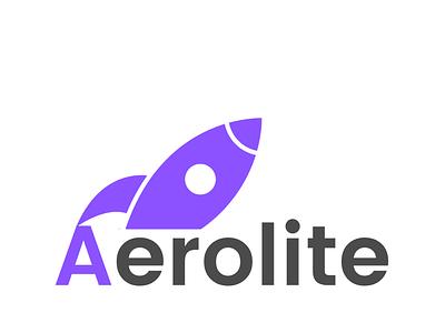 Aerolite: Rocket ship logo dailylogochallenge illustration design icon vector logo branding graphic design