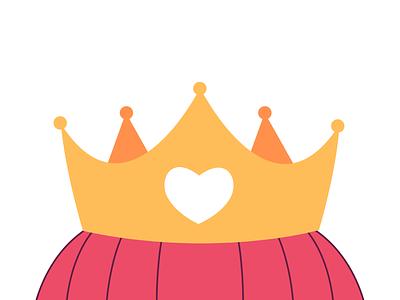Crown: A Hot Air Balloon logo dailylogochallenge icon graphic design branding vector logo