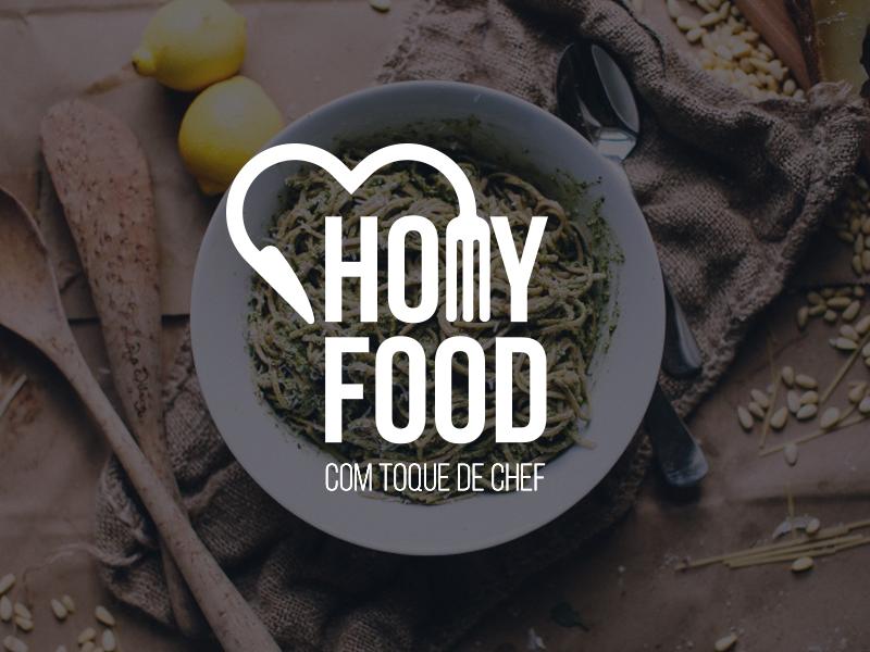 Homy Food branding