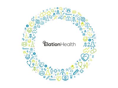ElationHealth Branding icons branding health gif motion elationhealth
