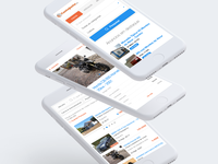 CustoJusto — Mobile Website