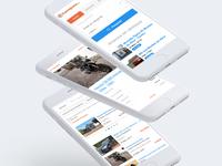 CustoJusto — Mobile Website website custojusto sales responsive mobile design digital ux ui 44studio