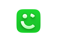 Shadows are back! best motion careem uber apple ios green icon 3d icons 3d icon c4d app icon product icon app logo animation cinema 4d cinema4d ios ios14