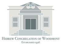 Hebrew Congregation of Woodmont Logo logo synagogue shul historic historic building chava chava light chava studios
