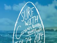 Carvin Event Poster - rebound