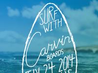 Carvin Event Poster - rebound 2