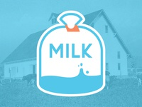 Milk Bag Sticker