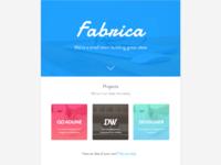 Fabrica Site