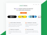 Kraftdeck Landing Page