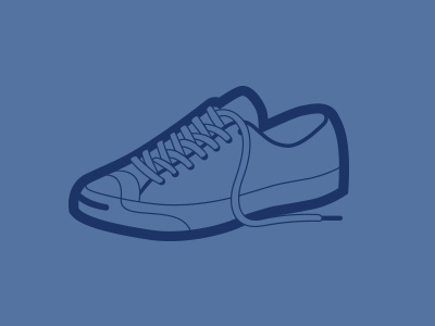 Casual Shoe illustration icon shoe flat vector simple
