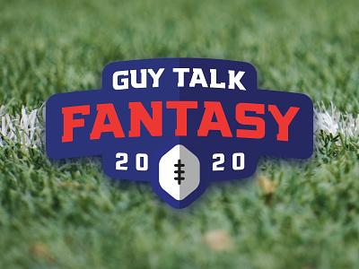 Guy Talk Fantasy Football 2020 logo logo fantasy sports football