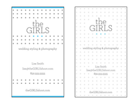 The Girls letterpress concepts