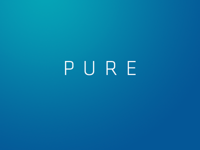 Pure short film logo scifi animation logo identity