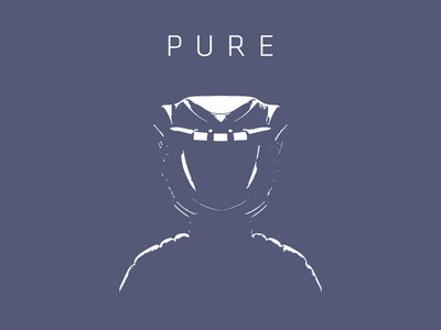 Pure promo tee animation character tee t-shirt