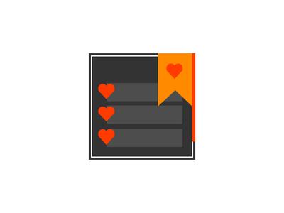 Bookmark icon v2