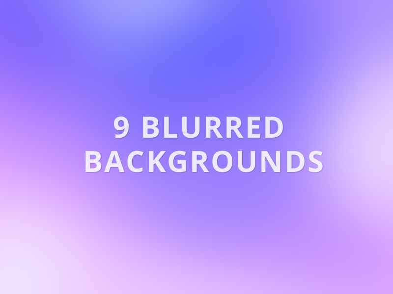 9 Free Blurred Backgrounds blur blurred background background free freebie download