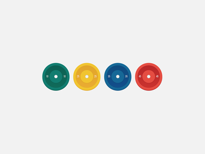 Bumper Plates — Wallpaper
