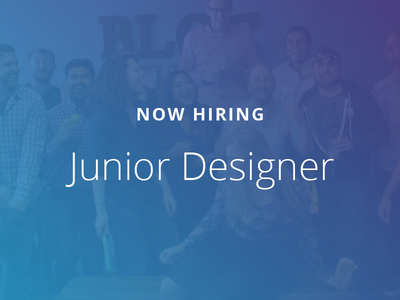 Now Hiring! bloc jobs junior designer